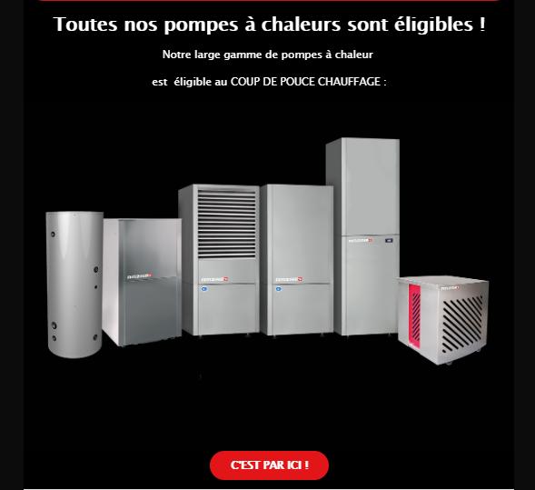 Pompe à chaleur à Lunéville